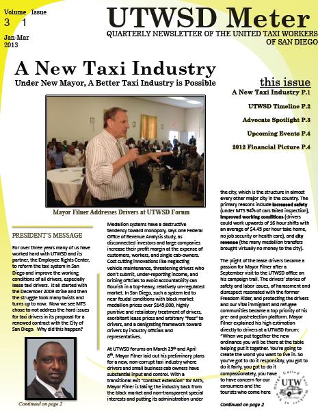 Newsletter Vol. 3 Issue 1